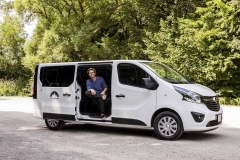 Opel Vivaro and Local Nomad